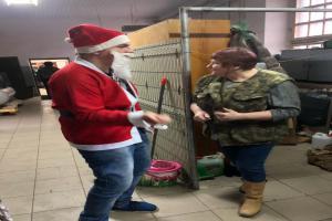 Mikołaj w naszej szkole.